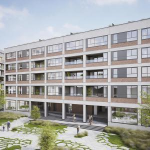 Bouwen van appartementen 'Delta' en 'Koffienatie' te Antwerpen-thumbnail