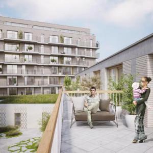 appartementen 'Delta' en 'Koffienatie' te Antwerpen terras-thumbnail