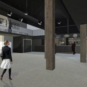 De Verdieping II  CC Muze te Heusden-Zolder binnenkant inkom simulatie-thumbnail