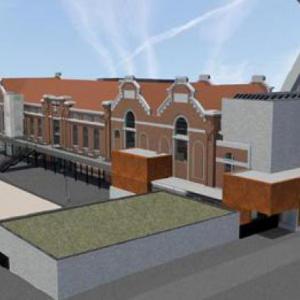De Verdieping II  CC Muze te Heusden-Zolder buitenkant simulatie-thumbnail